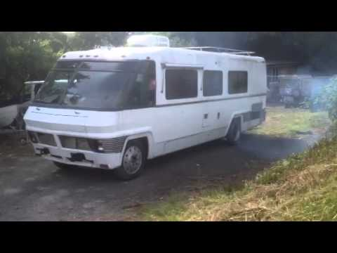 Dodge Avco motorhome running after being parked for over 16 years