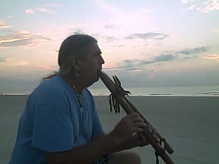 double flute healing song for the ocean