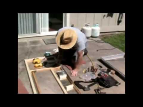 RV Travel Trailer Rebuilding doors