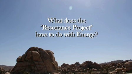 """What does the """"Resonance Project"""" have to do with Energy?"""