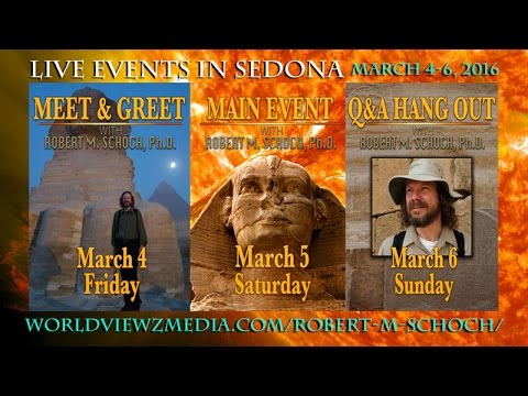 Skype Interview with Dr. Robert M. Schoch for Mar 4-6 Live Event in Sedona
