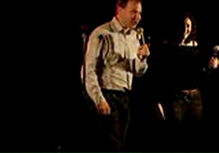 SOL Cabaret 2007 - Janine and Paul improvising