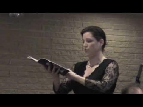 Sara Westermark sings Mendelssohn Cantata