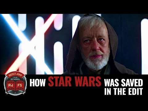 How Star Wars was saved in the edit