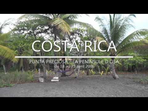 Les KD en famille au Costa Rica - Avril 2016