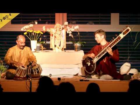 "Yogendra and Ravi playing ""magic indian ragas"" - Yoga Vidya Ayurveda Congress 2014"