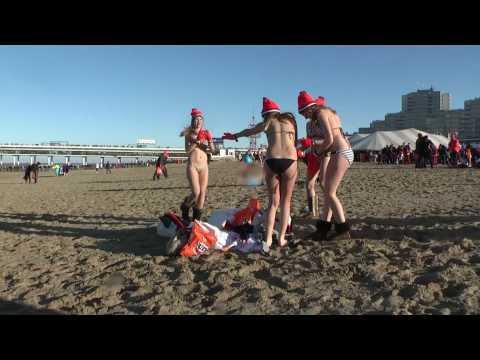 Nieuwjaarsduik 2010 Scheveningen