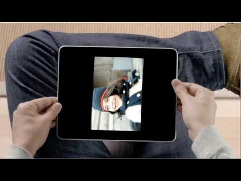 Campagne: iPad commercial