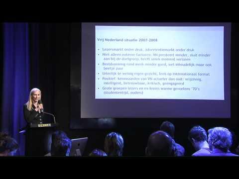 Karin van Gilst (1)  over de wederopstanding van Vrij Nederland - Zesde Nederlands MediaNetwerk Event