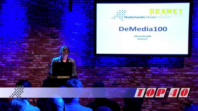 Erik de Zwart presenteert de Media TOP 40