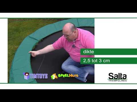 Productvideo Salta trampoline voor TimToys.nl en Speelhuis.com met VCC presentator Rene