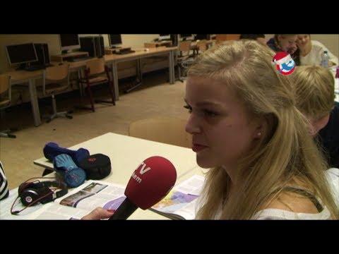 Afloop onderwijsmarathon leerlingen Montessori College Arnhem