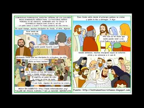 VIDEO HOJITA EVANGELIO DOMINGO XXI TO B