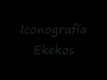 Iconografía ekekos