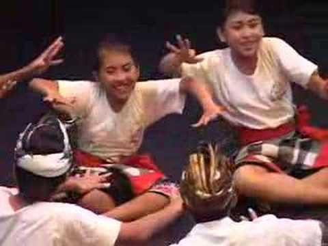Balinese-Hip Hop Kids Dance Exchange