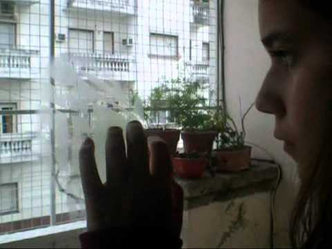C & A. Living y balcón
