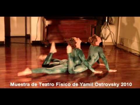 muestra teatro físico 2010 Denisse y Martina