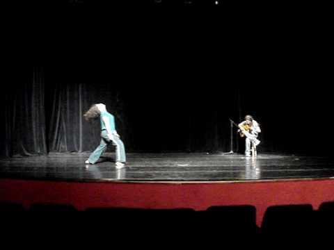 """""""Concerto para corpo e violão"""" - fragmento 21/11/09"""