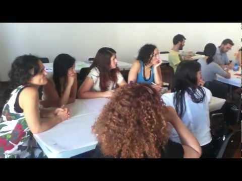 dance-tech.tv @ mov_s 2012: Grupos y mesas de trabajo, Cádiz, España