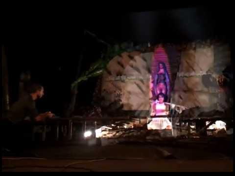 SPEAK 3.5 MULTIDIM interviene la escultura EL INSOMNIO DE LOS MONUMENTOS