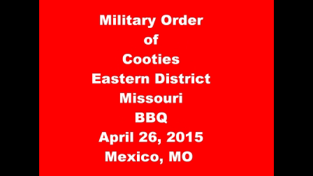 Cootie BBQ at Mexico, MO, Veterans Home