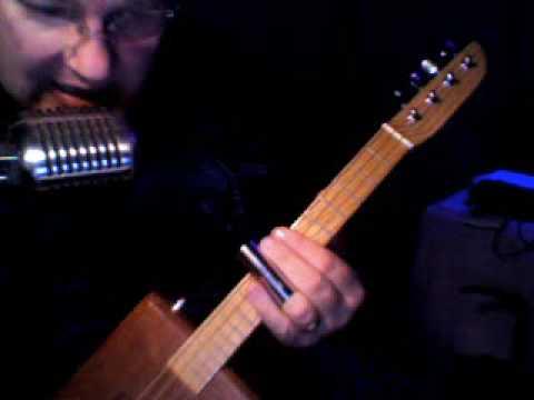 cigar box guitar Folsom pinball blues or (pinball prison blues)
