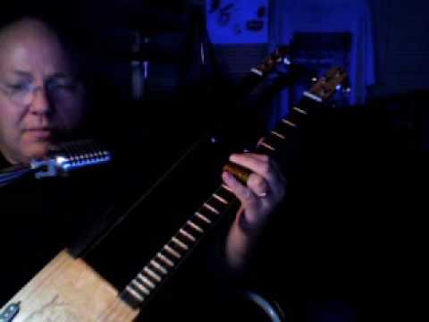 cigar box guitar(Wayfaring Stranger traditional) by Ice Bob