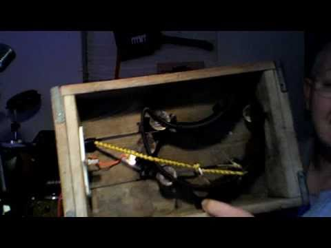 coca cola stomp box( foot drum)demo by Ice Bob