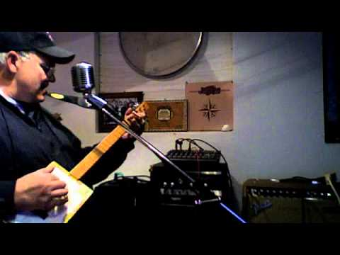 cigar box guitar(hunger strike Temple of the dog) by Ice Bob