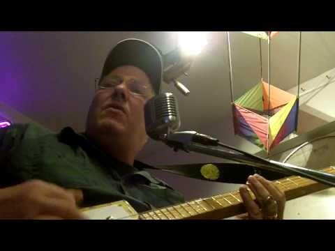 cigar box guitar (i still havent found what im looking for U2) by Ice Bob