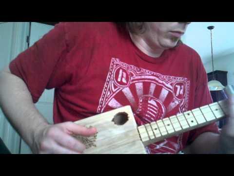 South Carolina Cigar Box Guitar