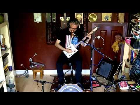No Crime -New Tune on 3 String CBJ CBG