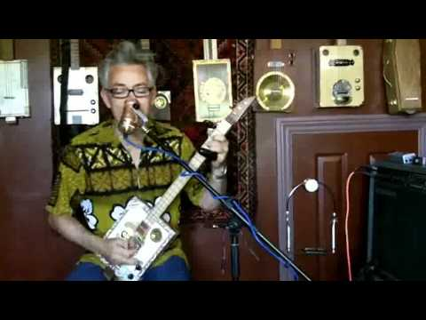 Give Me a Sign - 3 String Cigar Box Guitar