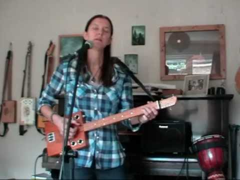 The Line - Demo (with Red Dog 3 string Cigar Box Guitar)