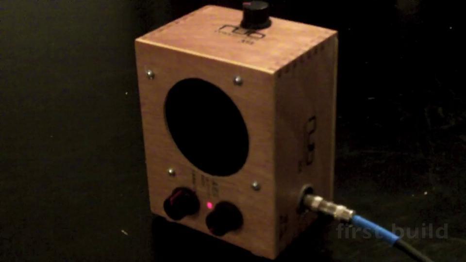 the nub - cigar box amp