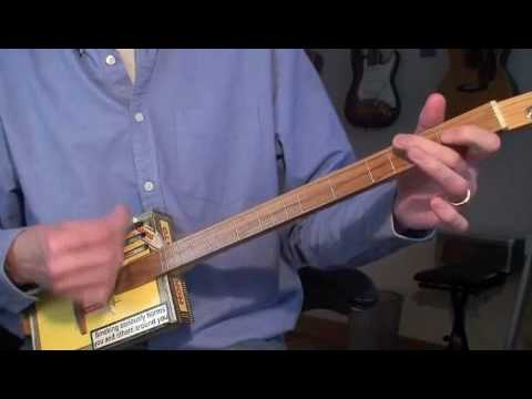 Turkey In The Straw - Daddy Long Les on the Cigar Box Guitar