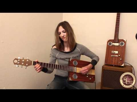 Saint Louis Guitar - Skye - Personal Jesus cover (depeche mode) Box Instruments Guitars