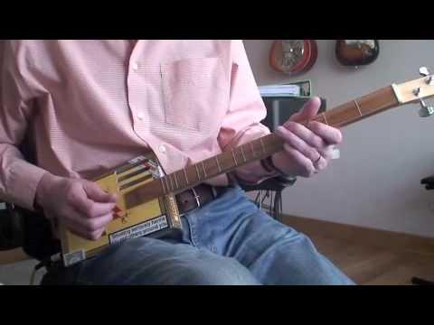 Money (Pink Floyd) - Daddy Long Les on the Cigar Box Guitar