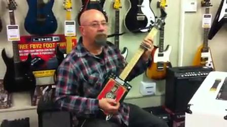 Philippe Castillo, Sales Exectutive of Devil Guitars Tasmania