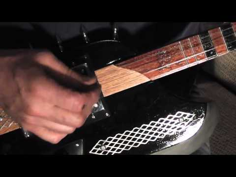 Hand Made Battle Axx Guitar And Battle Amp