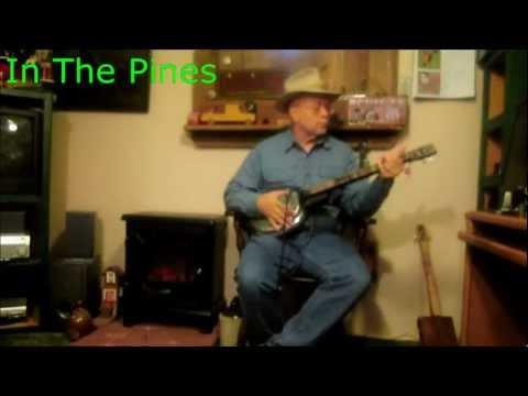In The Pines ~ 3 string Hubcap Guitiar