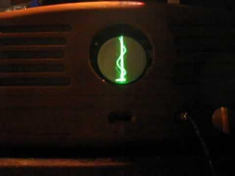 8Л07И CRT / Guitar amplifier demo