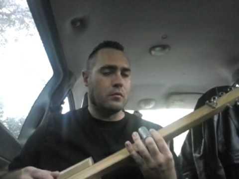 Beck - lost cause - cigar box guitar