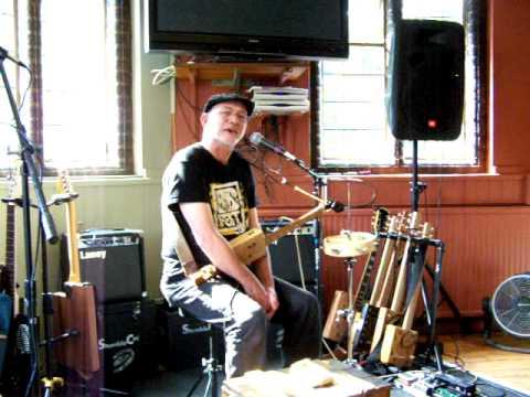 Yellowbelly Flatt-Skegness Polka-The First Cambridge Cigar Box Guitar Festival