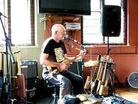 The First Cambridge Cigar Box Guitar Festival-Yellowbelly Flatt