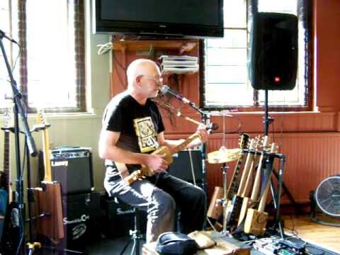 The First Cambridge Cigar Box Guitar Festival-Yellowbelly Flatt