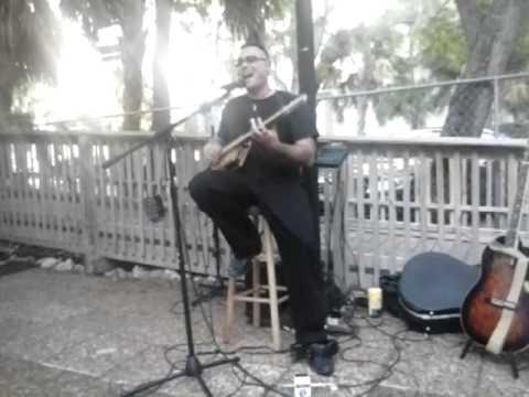 Love In Vain - three string cigar box guitar