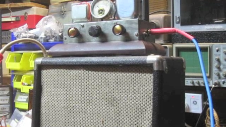 'The Ma' All Valve Steampunk style amp for Harrison.