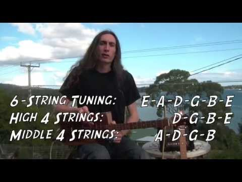 4-String Tunings for the Cigar Box Guitar with Justin Johnson