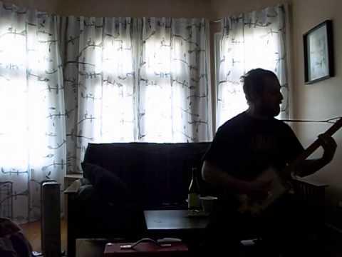 Vegafina Four String Guitar with Gold Humbucker Pickup SCREAMIN